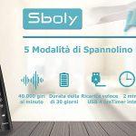 sboly sonic 5 spazzolino elettrico